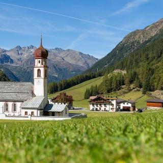Wallfahrtskirche in Gries