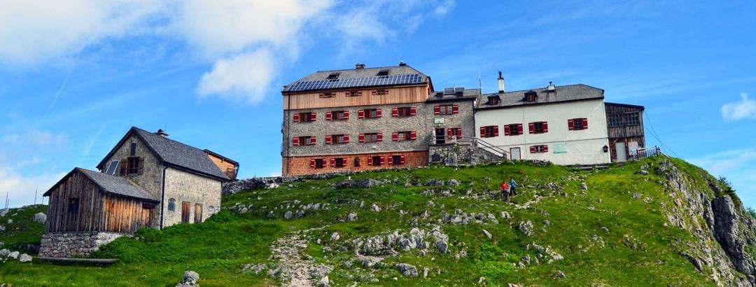 Das Watzmannhaus im Bergsteigerdorf Ramsau