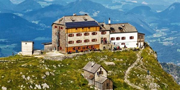 <![CDATA[Das Watzmannhaus im Nationalpark Berchtesgaden]]>