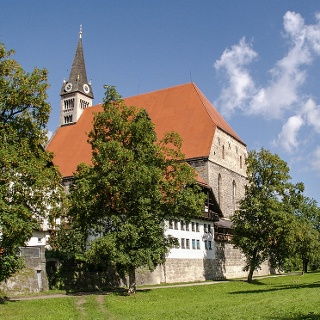 <![CDATA[Die Stiftskirche Maria Himmelfahrt in Laufen]]>