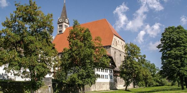Die Stiftskirche Maria Himmelfahrt in Laufen