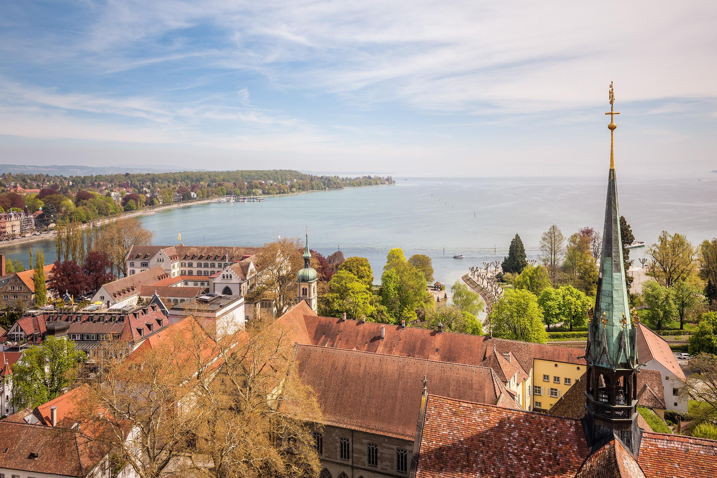 Blick vom Konstanzer Münster