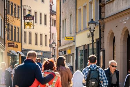 Einkaufspassage Konstanz