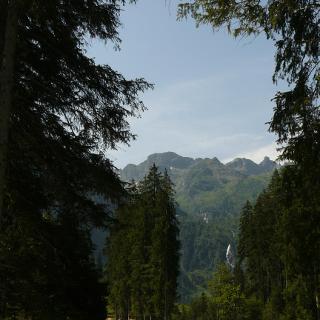 Straße zum Bodensee