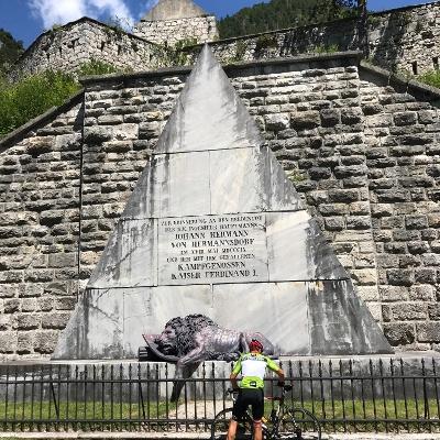 Denkmal beim Fort Hermann am Predil-Pass