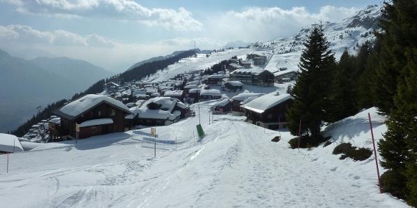 Winterwanderung Rundweg Bettmeralp - Lischa