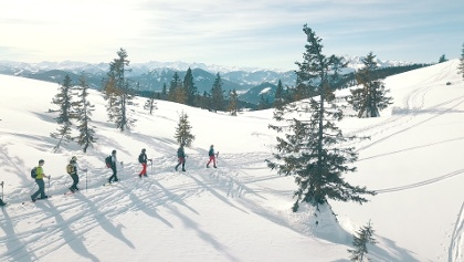 Schneeschuhwanderung auf den Gerzkopf