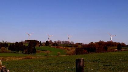 de 4 windmolens van Elsenborn