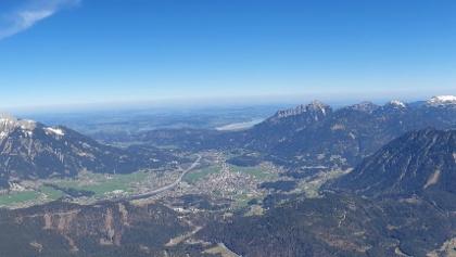Panorama über das Reutter Becken