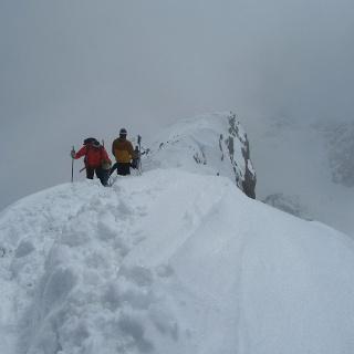 Gipfelanstieg über Ostgrat
