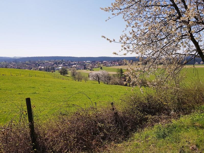 Sonnenpanoramaweg rund um Dietersweiler bei Freudenstadt