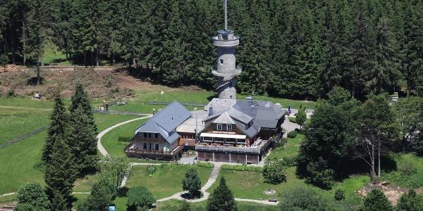 Berggasthof Brend mit Aussichtsturm