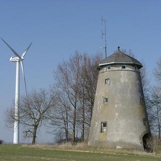 Alte Windmühle, Spitze Warte
