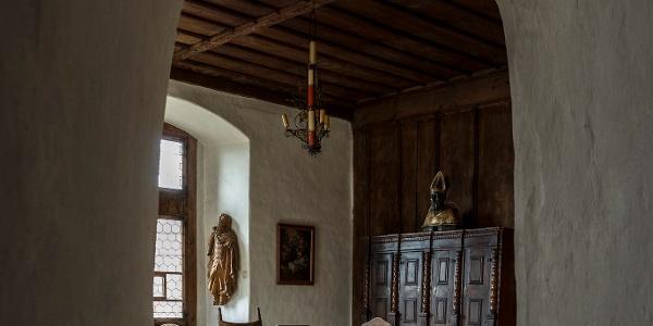 Blick in die Vogtei des Schattenburg Museums