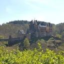 Schöner Blich auf Burg Eltz