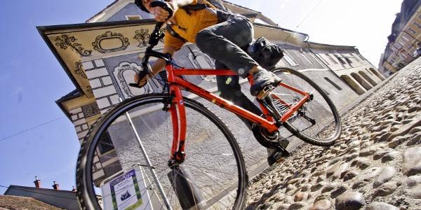Unterwegs in der Altstadt von Bad Radkersburg