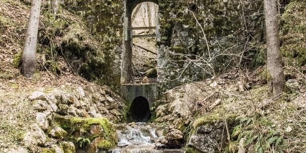 Wasserlauf am Stollenweg