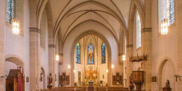 St. Pankratius Pfarrkirche in Eslohe - Reiste
