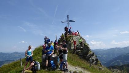 24-Stunden-Wanderung Berggipfel