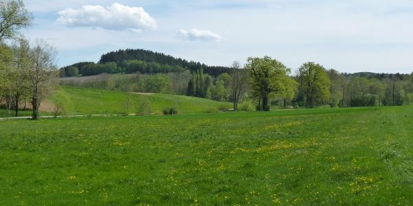 Zu  Beginn der Tour bei Haselbach