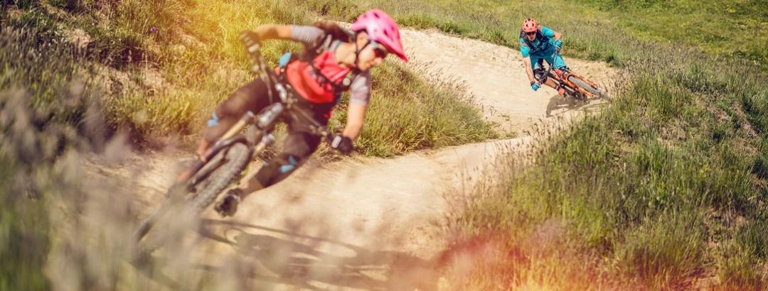 Mountainbiken im Wallis