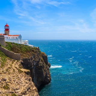 Leuchtturm bei Cabo de sao Vicente
