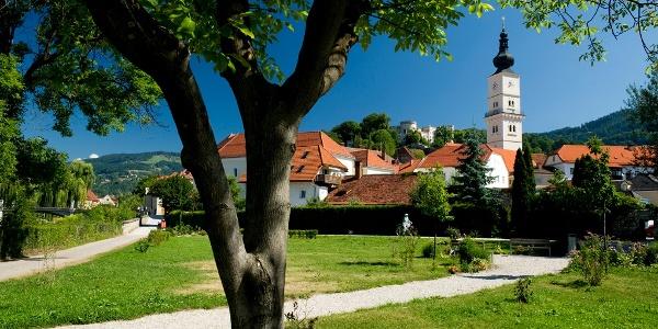 Wolfsberg - Blick zur Markuskirche