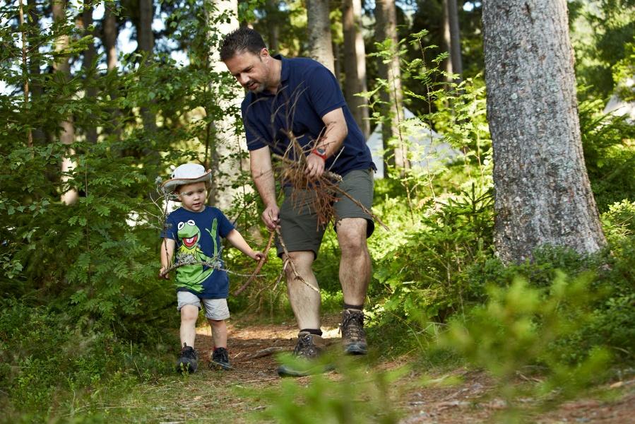 Mit Kindern auf der Pirsch im Pfisterwald