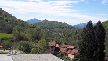 Oberhalb Tesserete, Blick Richtung Lago d'Origlio