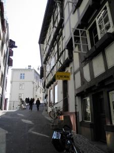 Basel: Altstadt beim «Rheinsprung»