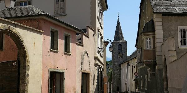Rue du Bourg in Sierre.