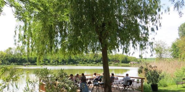 Oase am Teich