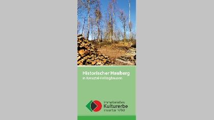 Flyer Historischer Hauberg in Kreuztal-Fellinghausen