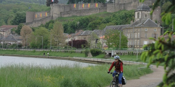 Moezel-fietspad in Frankrijk
