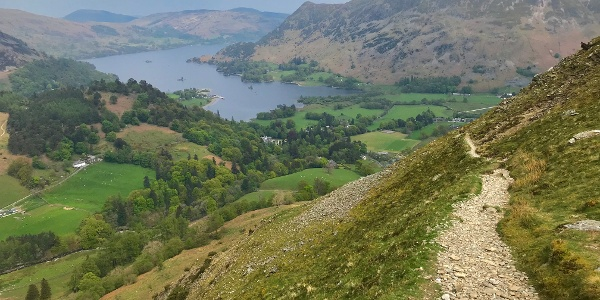 Descending Towards Ullswater