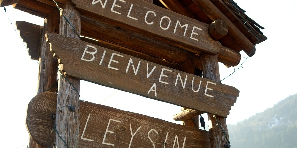Willkommen in Leysin.
