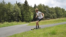Skirollerbahn Jagdhaus