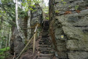Foto Netter Aufstieg an der östlichen Seite von Krippen