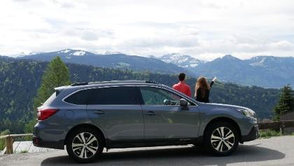 Traumhafter Ausblick auf der Subaru Abenteuer-Tour