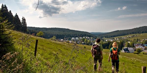 Kammweg in Carlsfeld