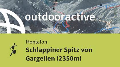 Skitour im Montafon: Schlappiner Spitz von Gargellen (2350m)