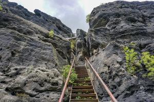 Foto Interessanter Aufstieg auf den Zirkelstein