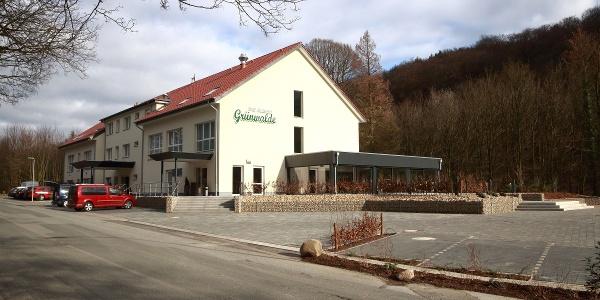 Hotel Grünwalde in Halle Westfalen - Aussenansicht