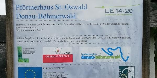 Leaderprojekt Pförtnerhaus St. Oswald bei Haslach