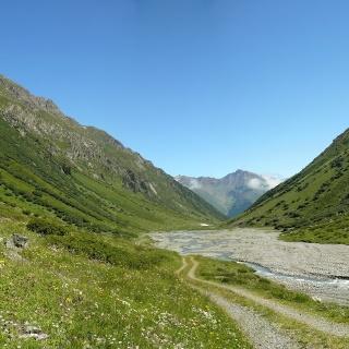 Laraintal - Blick nach Norden