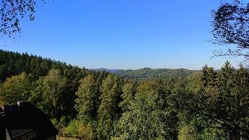Foto Aussicht am Beize Haus