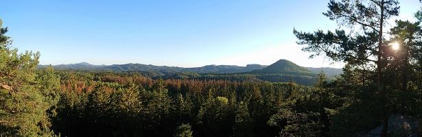 Foto Aussicht vom Lindigtblick
