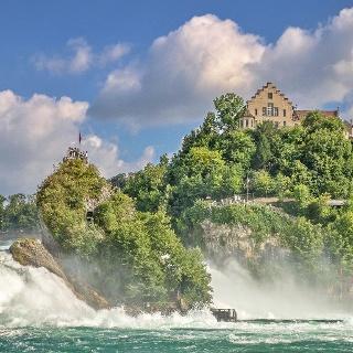 Schlosslaufen am Rheinfall