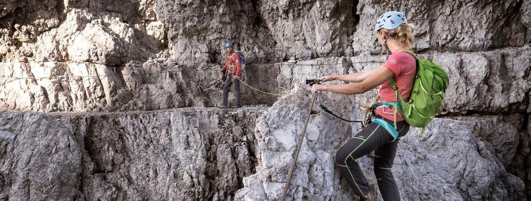 Klettersteig im Val Rendena