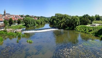 Flusslauf bei Saareinsming